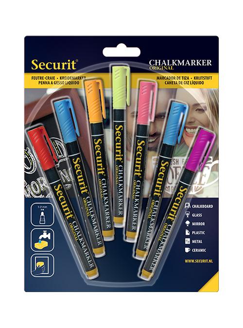 Canetas Coloridas Chalkboard 1