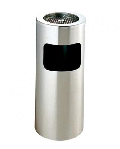 Caixote de Lixo Cilíndrico c/Cinzeiro
