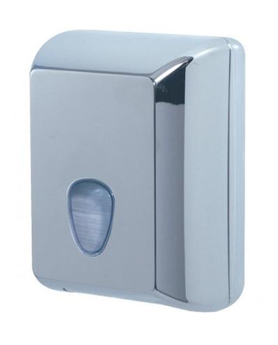 Dispensador de papel higiénico com uma capacidade de 350 folhas.