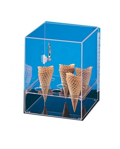 Dispensador para 9 cones de gelados.