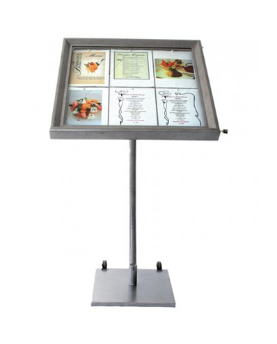 Expositor Menus Coated Steel