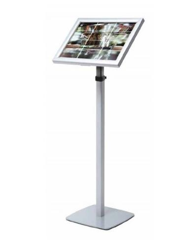 Expositor Menus de LED retroiluminado telescópico quadro modular iluminado com borda LED
