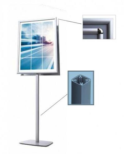 Info Pole Design dupla face