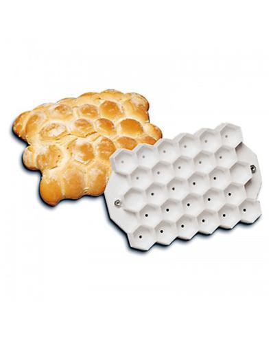 Moldes para Pão - Tartaruga Hexagonal