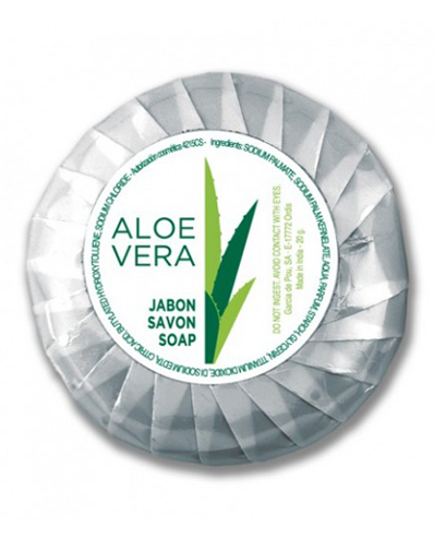 Sabão Redondo -Aloe Vera